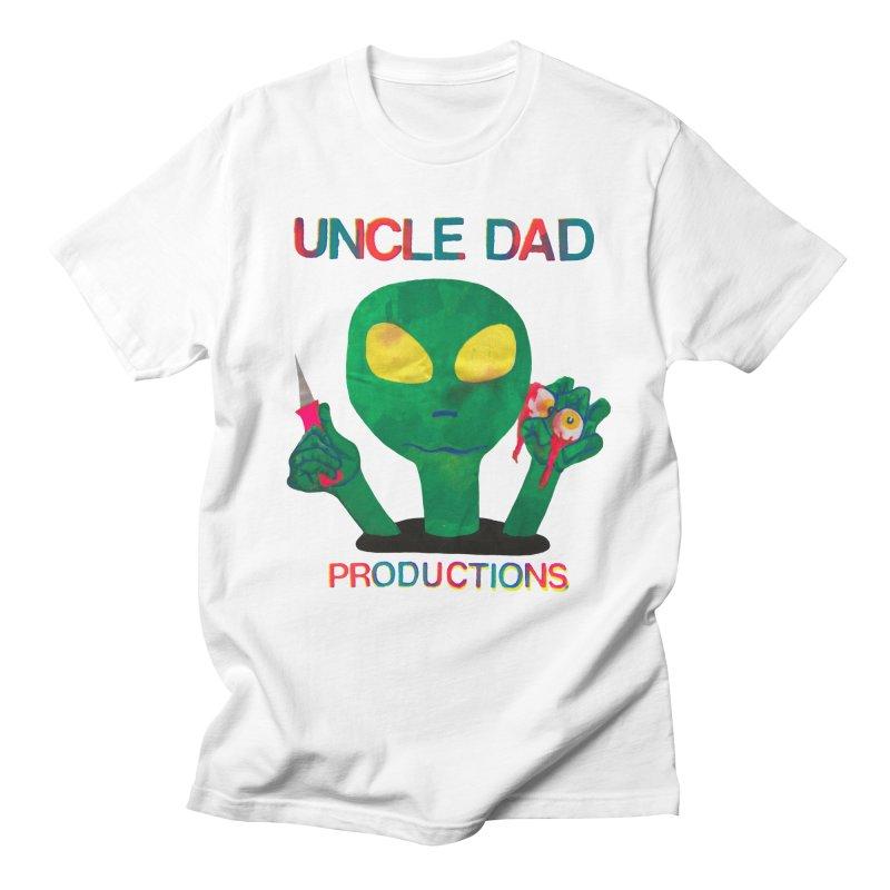Violent Alien Men's T-shirt by UNCLE DAD PRODUCTIONS