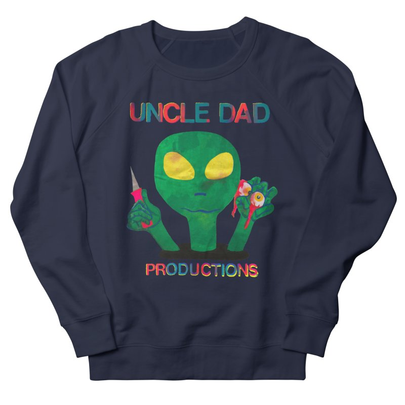 Violent Alien Men's Sweatshirt by UNCLE DAD PRODUCTIONS
