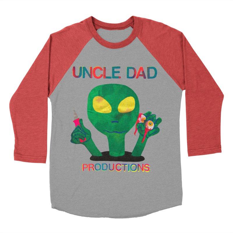 Violent Alien Women's Baseball Triblend T-Shirt by UNCLE DAD PRODUCTIONS