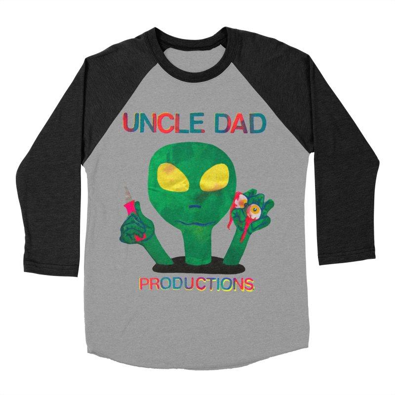 Violent Alien Men's Baseball Triblend T-Shirt by UNCLE DAD PRODUCTIONS