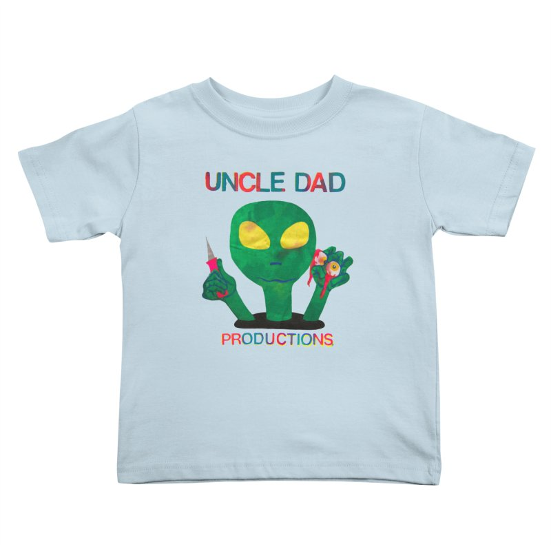 Violent Alien Kids Toddler T-Shirt by UNCLE DAD PRODUCTIONS