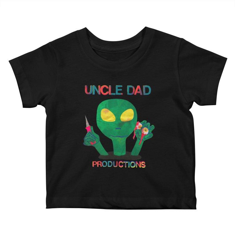 Violent Alien Kids Baby T-Shirt by UNCLE DAD PRODUCTIONS