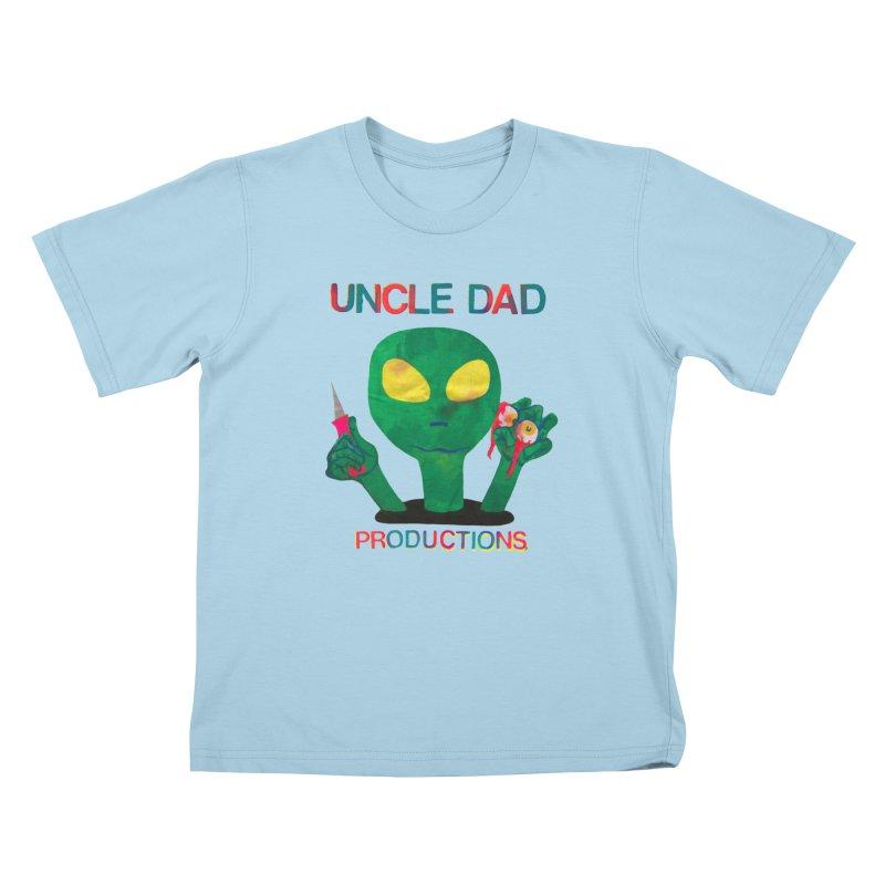 Violent Alien Kids T-Shirt by UNCLE DAD PRODUCTIONS