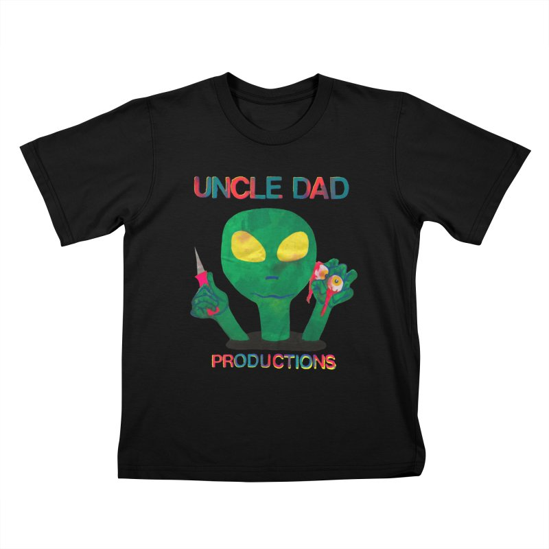 Violent Alien Kids T-Shirt by UNCLE DAD PRODUCTIONS