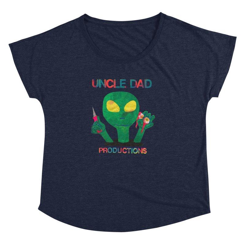 Violent Alien Women's Dolman by UNCLE DAD PRODUCTIONS