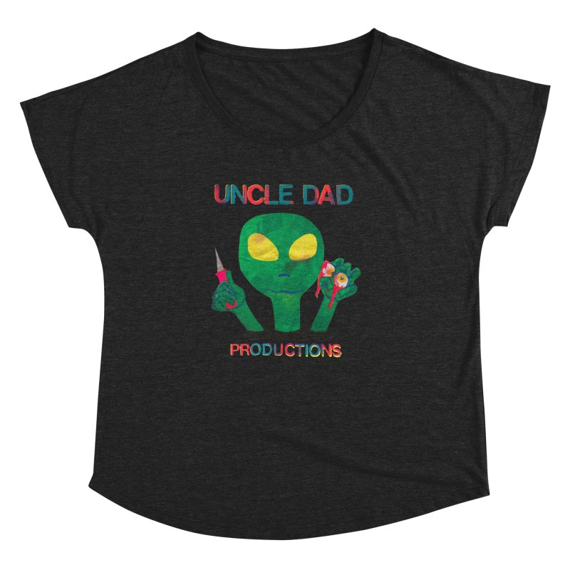 Violent Alien Women's Dolman by UNCLE DAD PRODUCTIONS