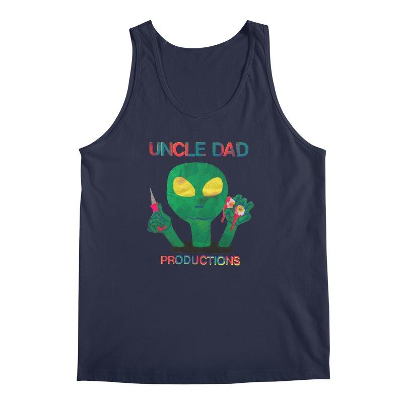 Violent Alien Men's Tank by UNCLE DAD PRODUCTIONS