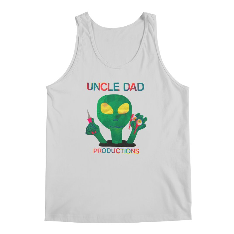 Violent Alien Men's Regular Tank by UNCLE DAD PRODUCTIONS
