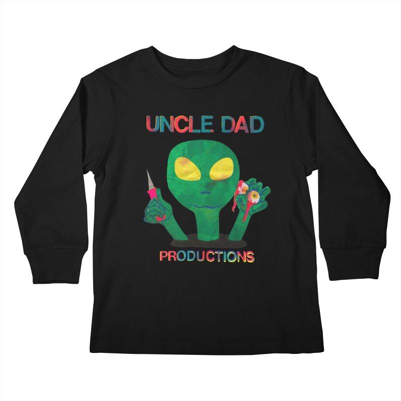 Violent Alien Kids Longsleeve T-Shirt by UNCLE DAD PRODUCTIONS