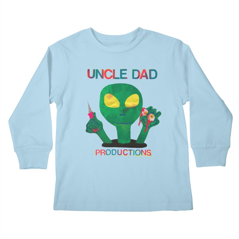 Violent Alien Kids Longsleeve T-Shirt by UNCLE DAD PRODUCTIONS
