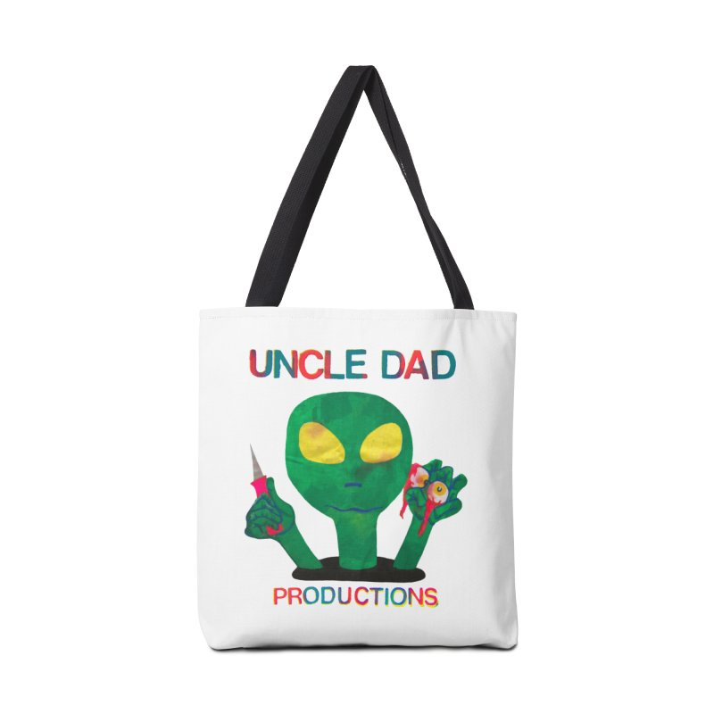 Violent Alien Accessories Bag by UNCLE DAD PRODUCTIONS
