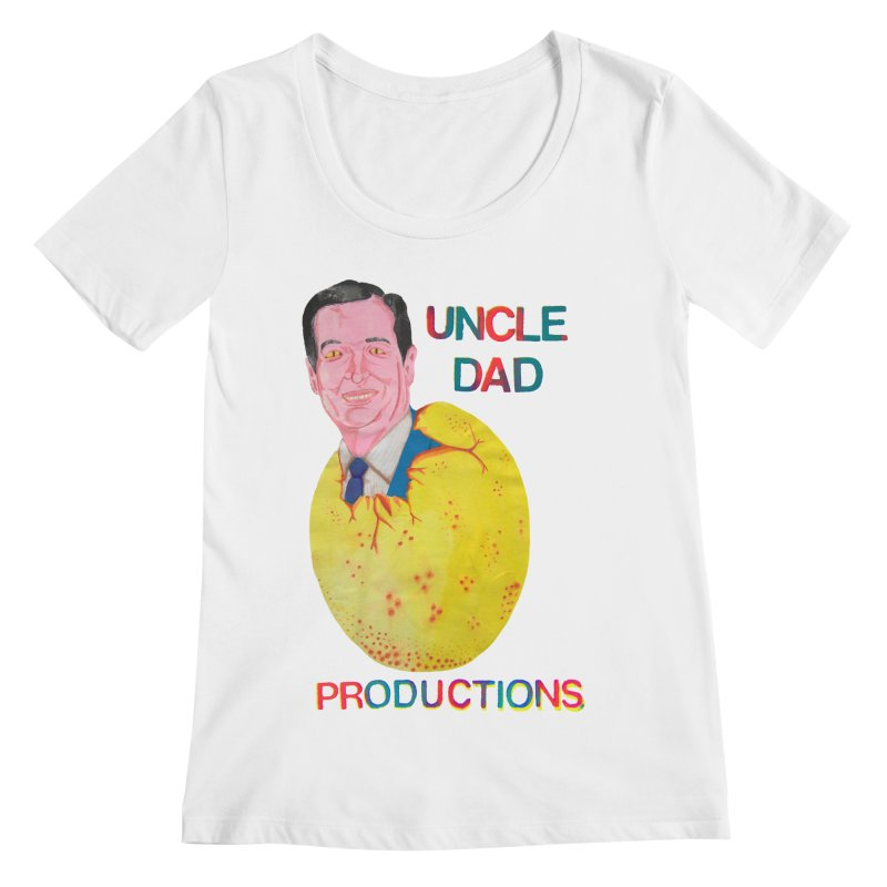 Baby Ted Women's Regular Scoop Neck by UNCLE DAD PRODUCTIONS
