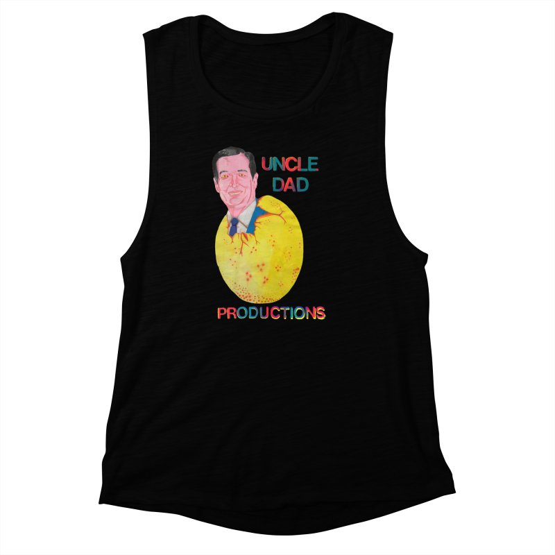 Baby Ted Women's Muscle Tank by UNCLE DAD PRODUCTIONS