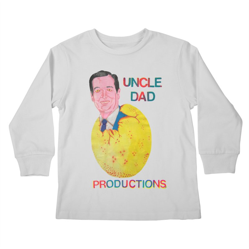 Baby Ted Kids Longsleeve T-Shirt by UNCLE DAD PRODUCTIONS