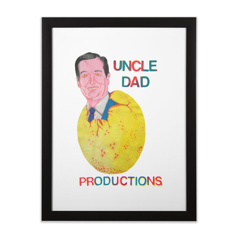 Baby Ted Home Framed Fine Art Print by UNCLE DAD PRODUCTIONS