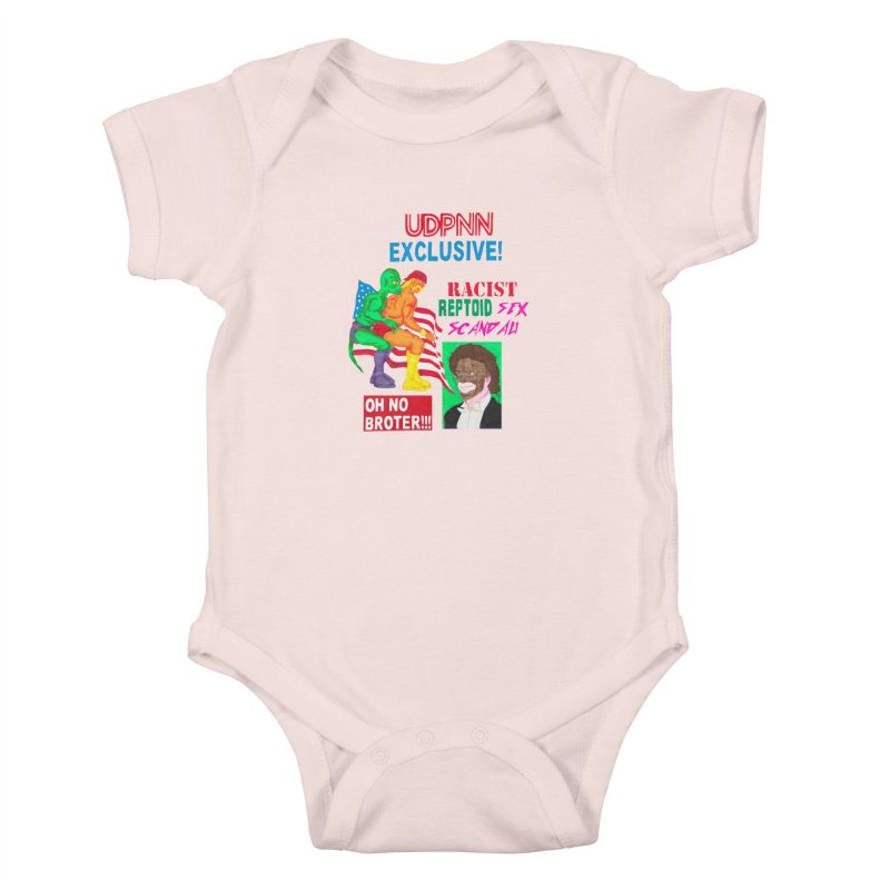 OH NO BROTER! Kids Baby Bodysuit by UNCLE DAD PRODUCTIONS