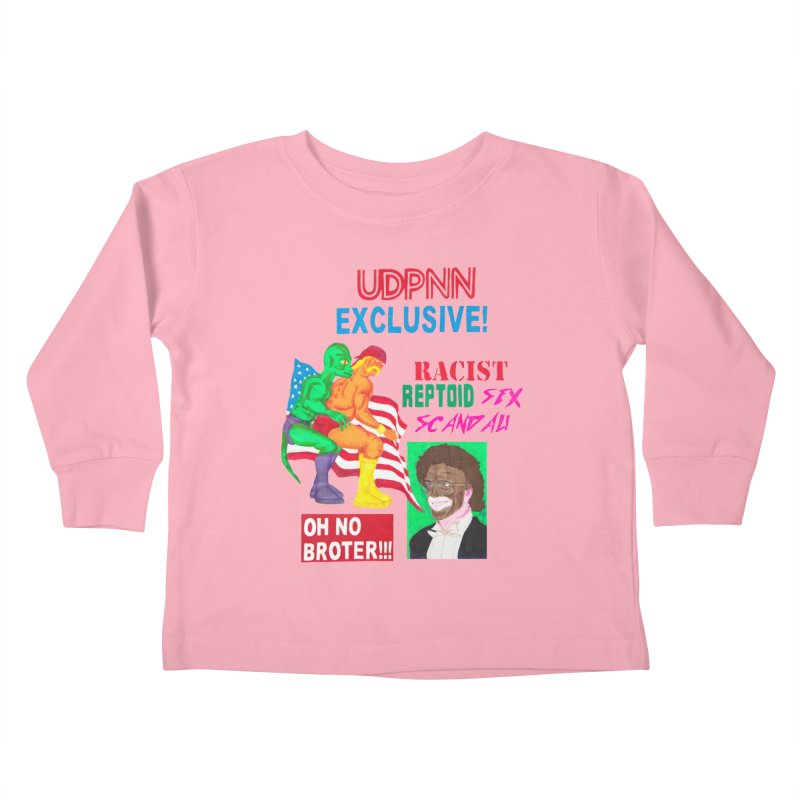 OH NO BROTER! Kids Toddler Longsleeve T-Shirt by UNCLE DAD PRODUCTIONS