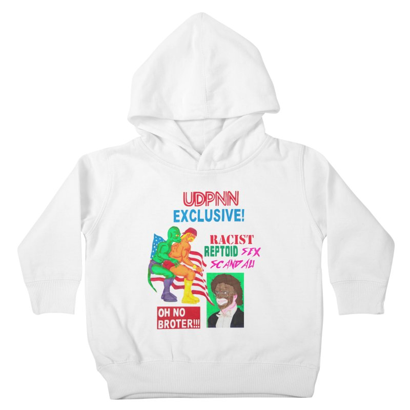 OH NO BROTER! Kids Toddler Pullover Hoody by UNCLE DAD PRODUCTIONS