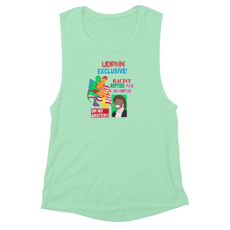 OH NO BROTER! Women's Muscle Tank by UNCLE DAD PRODUCTIONS