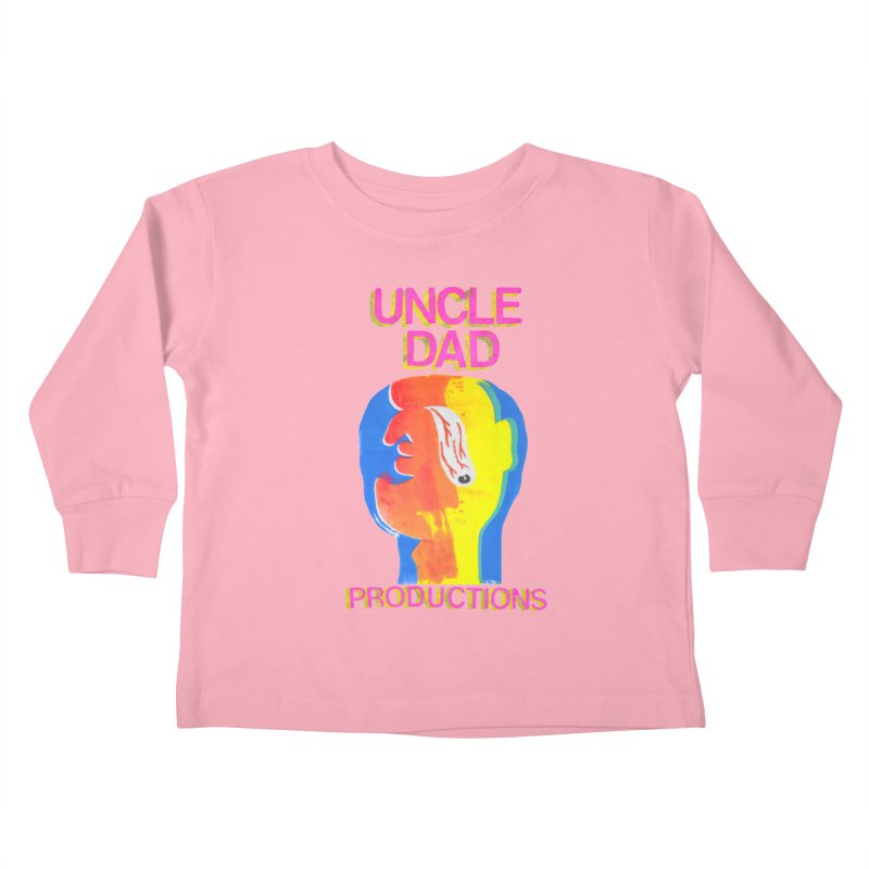 Buggin' Out Kids Toddler Longsleeve T-Shirt by UNCLE DAD PRODUCTIONS