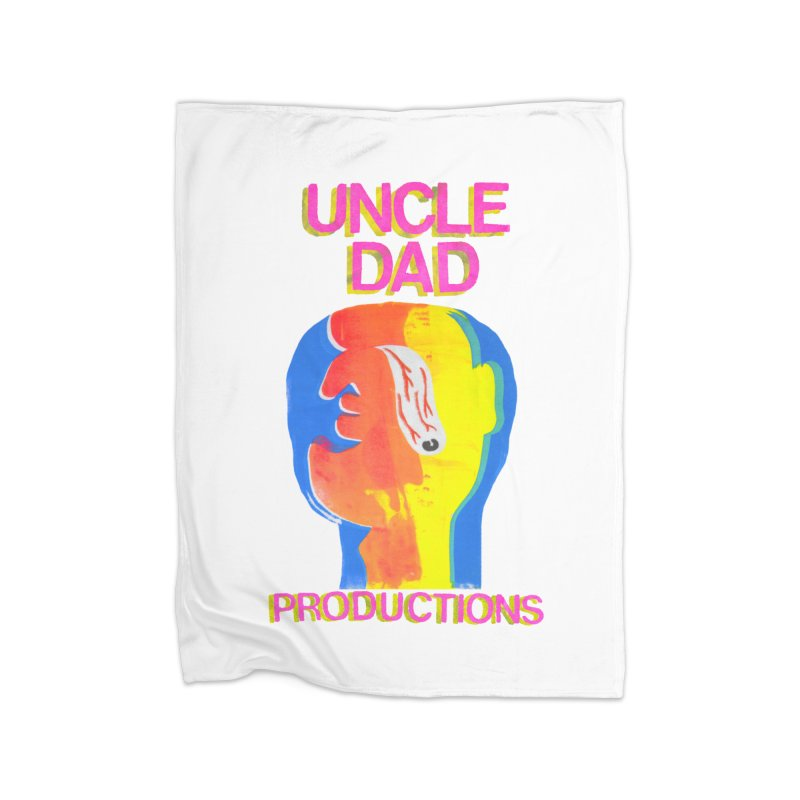 Buggin' Out Home Blanket by UNCLE DAD PRODUCTIONS