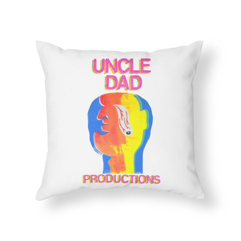Buggin' Out Home Throw Pillow by UNCLE DAD PRODUCTIONS