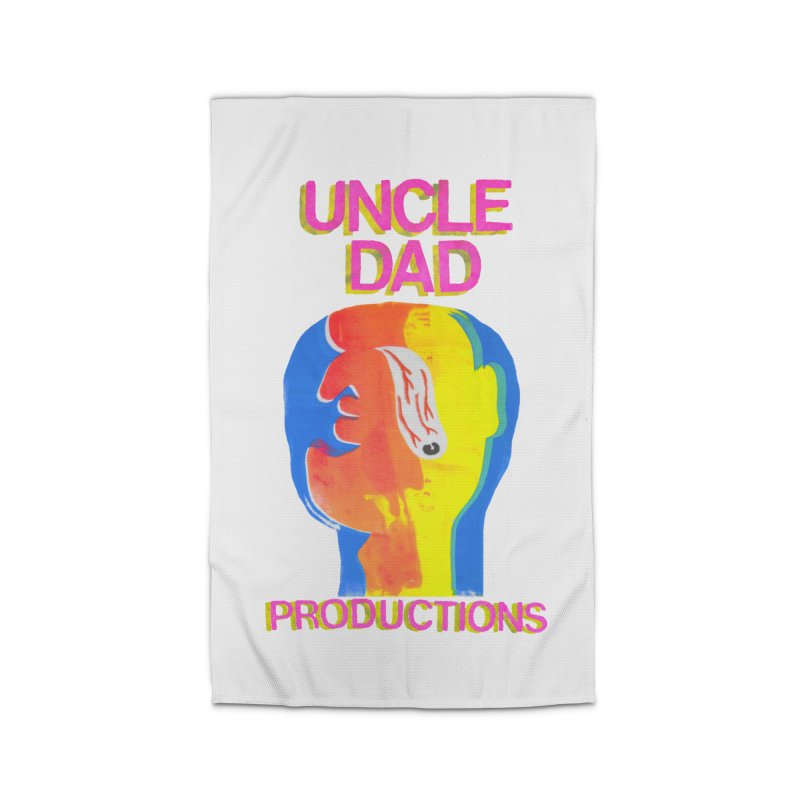 Buggin' Out Home Rug by UNCLE DAD PRODUCTIONS