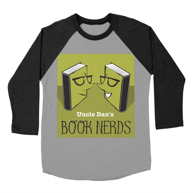 Book Nerds Men's Longsleeve T-Shirt by Uncle Dan's Stuff