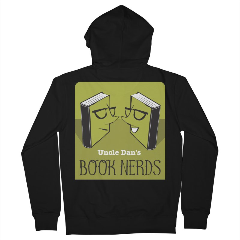Book Nerds Women's French Terry Zip-Up Hoody by Uncle Dan's Stuff