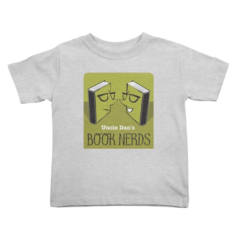 Book Nerds Kids Toddler T-Shirt by Uncle Dan's Stuff