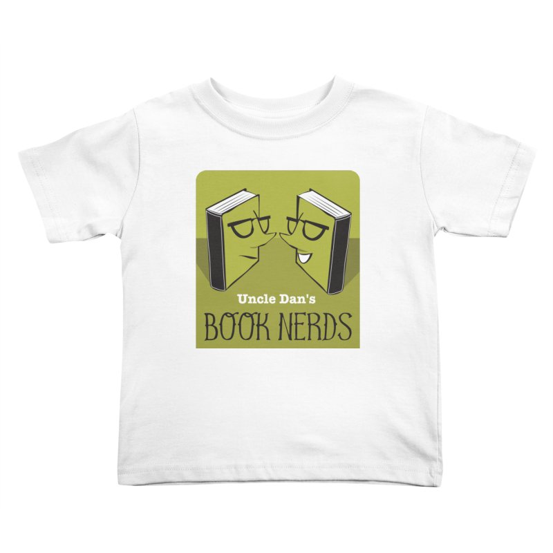 Book Nerds Kids Toddler T-Shirt by Uncle Dan's Stuff