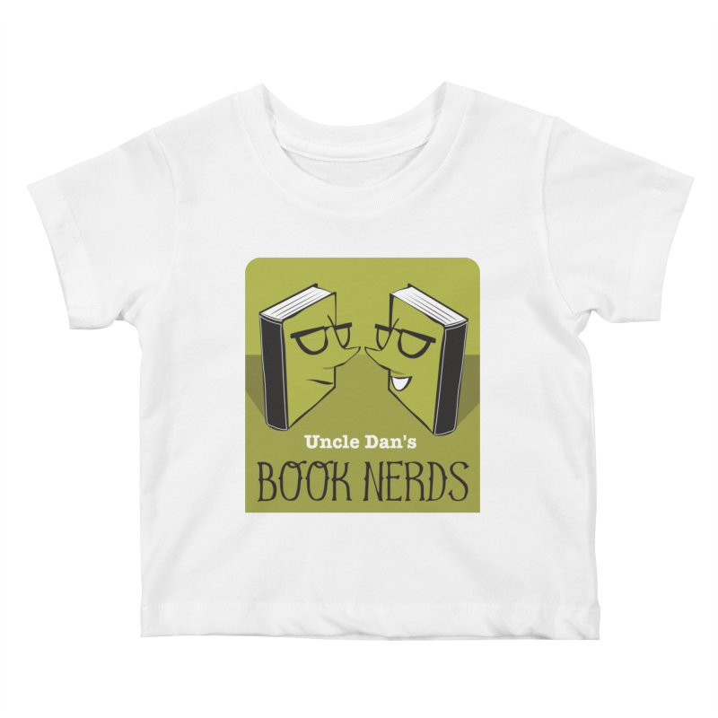 Book Nerds Kids Baby T-Shirt by Uncle Dan's Stuff