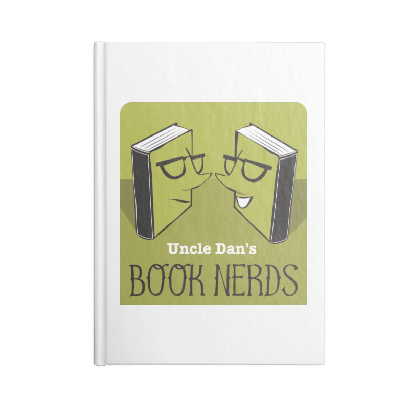 Book Nerds Accessories Lined Journal Notebook by Uncle Dan's Stuff