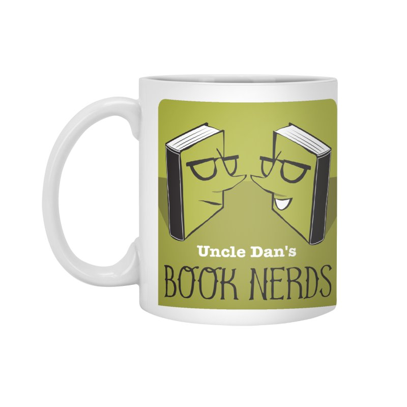 Book Nerds Accessories Mug by Uncle Dan's Stuff