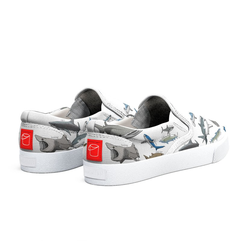 Shark Infested Merchandise Women's Shoes by The Underdone Comics Shop