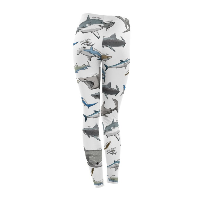 Shark Infested Merchandise Women's Bottoms by The Underdone Comics Shop