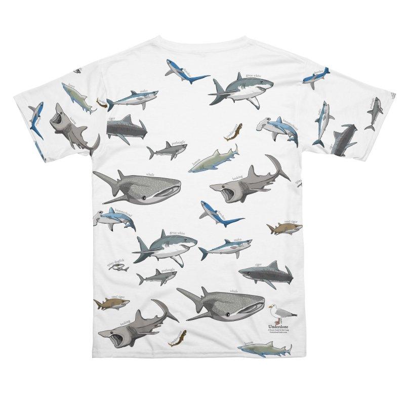 Shark Infested Merchandise Men's Cut & Sew by The Underdone Comics Shop