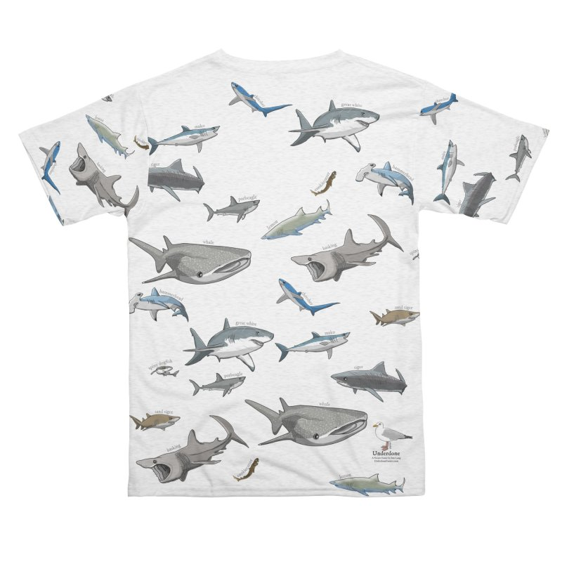 Shark Infested Merchandise Women's Cut & Sew by The Underdone Comics Shop
