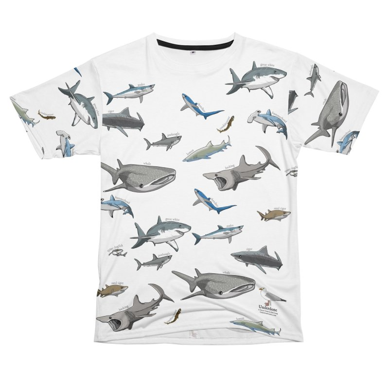 Shark Infested Merchandise Women's Cut & Sew by The Underdone Comics Shop