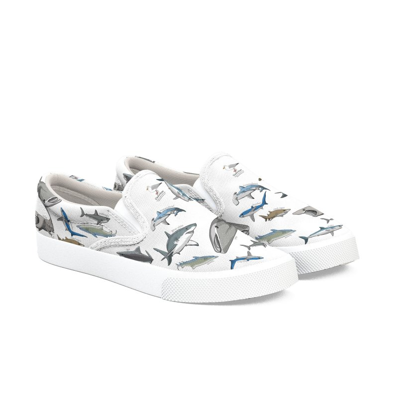 Shark Infested Merchandise Men's Shoes by The Underdone Comics Shop