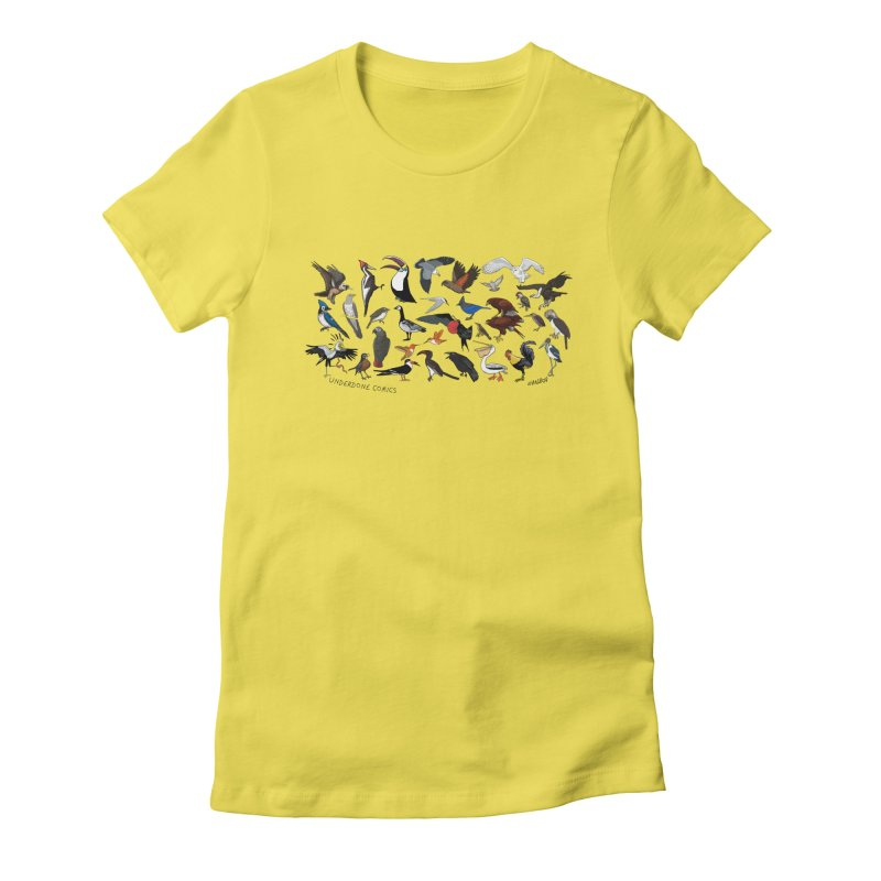 Some Birds of the World Women's T-Shirt by The Underdone Comics Shop