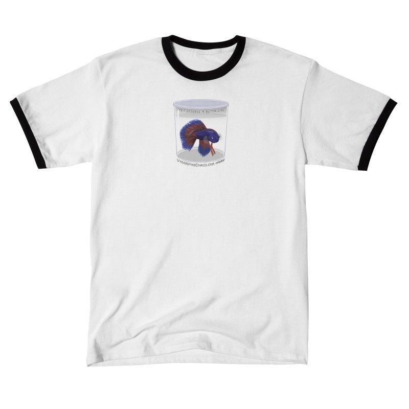 A Betta Life Men's T-Shirt by The Underdone Comics Shop