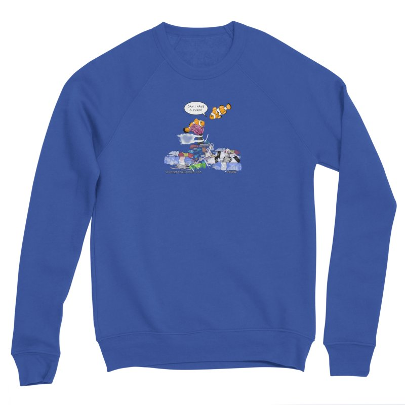 Clownfish Asks: Can I have a turn? Women's Sweatshirt by The Underdone Comics Shop