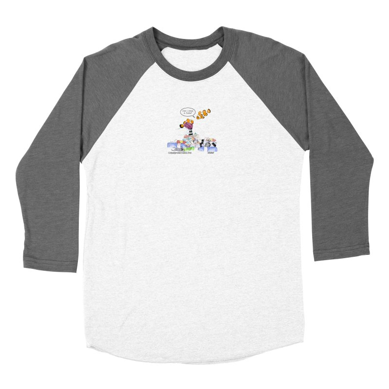 Clownfish Asks: Can I have a turn? Women's Longsleeve T-Shirt by The Underdone Comics Shop