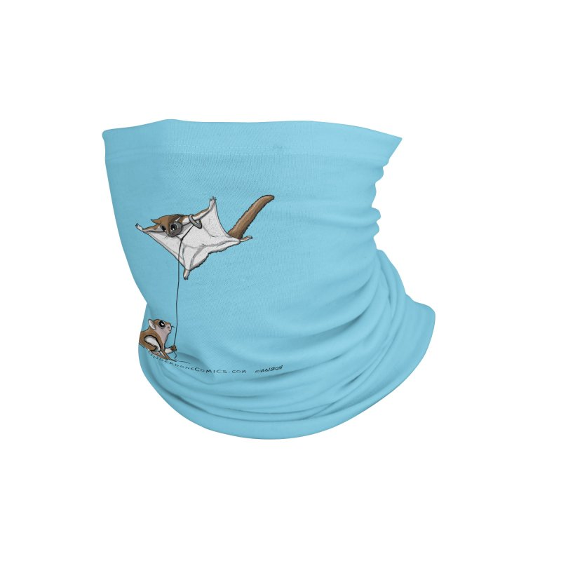 Flying Squirrel Training Accessories Neck Gaiter by The Underdone Comics Shop