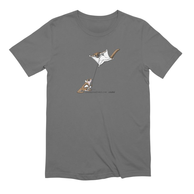Flying Squirrel Training Men's T-Shirt by The Underdone Comics Shop