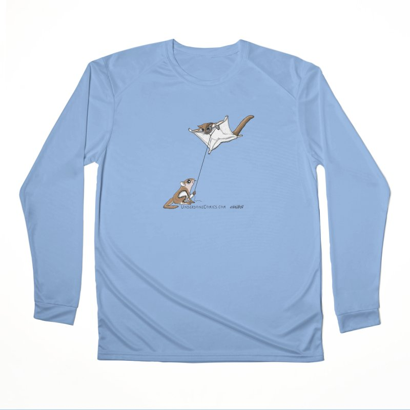 Flying Squirrel Training Women's Longsleeve T-Shirt by The Underdone Comics Shop