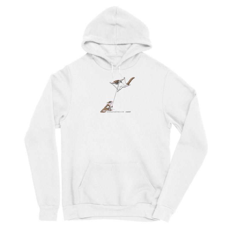 Flying Squirrel Training Men's Pullover Hoody by The Underdone Comics Shop