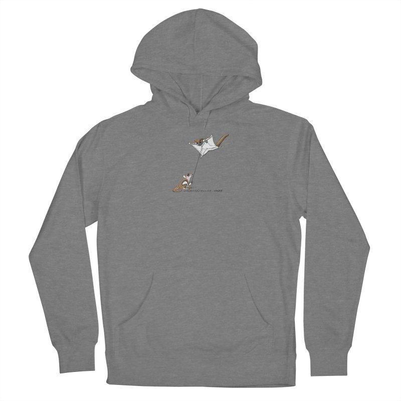 Flying Squirrel Training Women's Pullover Hoody by The Underdone Comics Shop