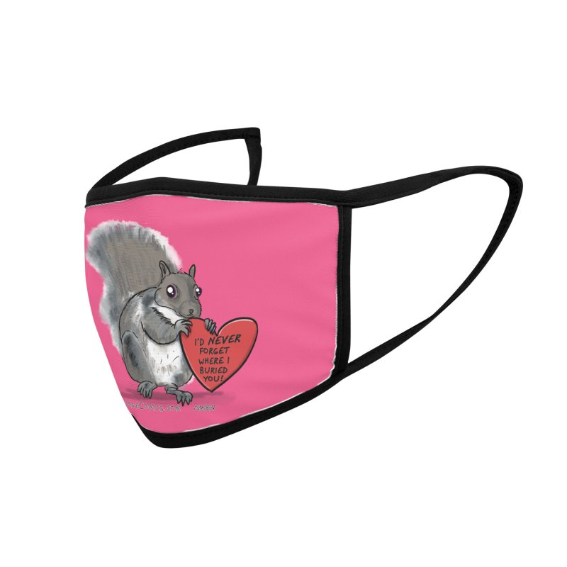 ValentineSquirrel Accessories Face Mask by The Underdone Comics Shop